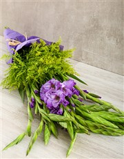 Picture of Gladiolus Purple bouquet!