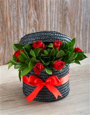 Picture of Red Rose Hat Box!
