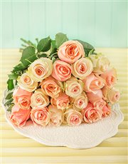 Picture of Pastel Giant Ethiopian Rose Bouquet!