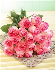 Picture of Pink Giant Ethiopian Rose Bouquet!