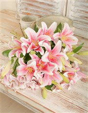 Picture of Stargazer Lily Bouquet!