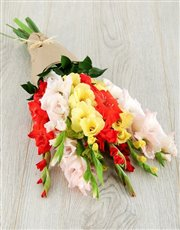 Picture of Mixed Gladiolus Bouquet!