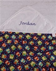 Picture of Personalised Baby Picnic Blanket   Birds!