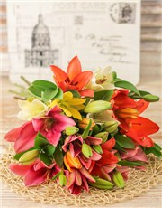 Picture of Lavish Lily Bouquet!