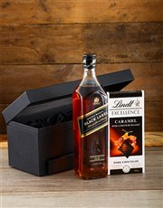 Picture of Johnnie Walker Black and Lindt Hamper!