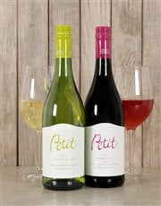 Picture of Petit Duo Red and White Wine Gift Box!