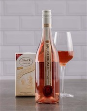 Picture of Mulderbosch Rose and Lindt White Chocolate!