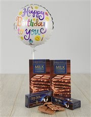 Picture of Happy Birthday Choc Nougat Gift!