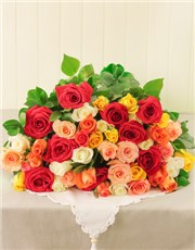 Picture of Mixed Roses!
