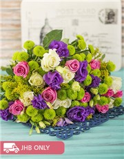 Picture of Colourful Bouquet of Roses!