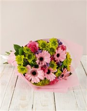 Picture of Gerbera & Rose Bouquet!
