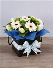Picture of Baby Boy Floral Box!