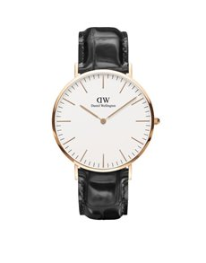 watches: DW 40mm Classic Collection Reading Watch 0114DW!
