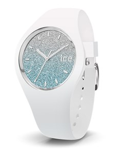 watches: Ice Lo White Blue Watch!