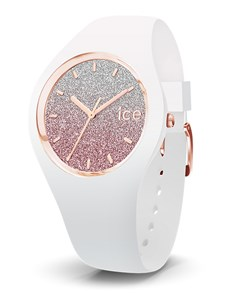 watches: Ice Lo White Pink  Watch!