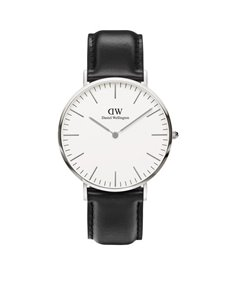 watches: DW 40mm Classic Collection Sheffield Watch 0206DW!
