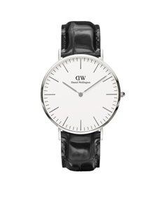 watches: DW 40mm Classic Collection Reading Watch 0214DW!