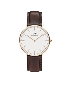 watches: DW 36mm Classic Collection Bristol Watch 0511DW!