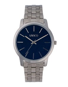 watches: Lanco Gents Gun Metal Plated Watch!