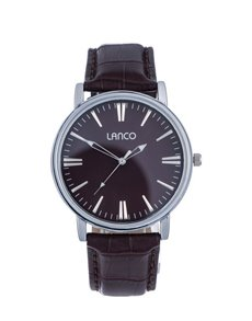 watches: Lanco Gents 42mm Round Case Watch!