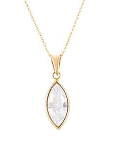 jewellery: 9ct Yellow Gold Marguise Necklace!