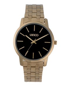 watches: Lanco Gents Yellow Gold Plated Watch!
