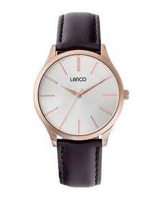 watches: Lanco Gents Rose Gold Plated Watch!