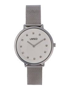 watches: Lanco Ladies Stainless Steel Round Watch!