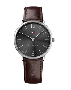 watches: Tommy Hilfiger Brown Leather Gents Watch!