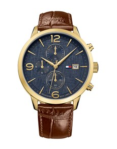 watches: Liam in Gold by Tommy Hilfiger!