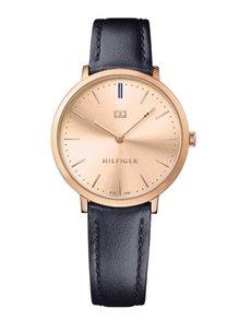watches: Tommy Hilfiger Ladies Ultra Slim Navy Watch!