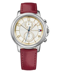 watches: Claudia in Burgundy by Tommy Hilfiger!