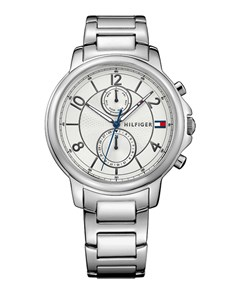 watches: Claudia in Steel by Tommy Hilfiger!