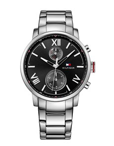 watches: Alden with a Black Dial by Tommy Hilfiger!