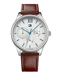 watches: Damon in Steel by Tommy Hilfiger!