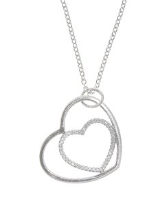 Picture of Pandora Silver Heart Necklace!