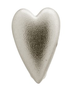 jewellery: Endless Jewellery Brushed Heart Silver Charm!