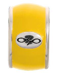 jewellery: Endless Yellow Endless Enamel Silver Charm!