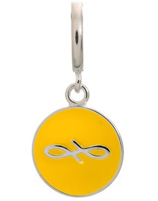 jewellery: Endless Sun Endless Coin Silver Charm!