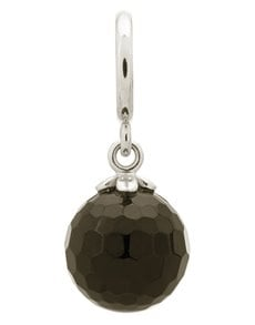 jewellery: Endless Black Love Drop Silver Charm!