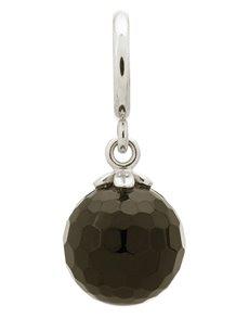 jewellery: Endless Black Love Drop Silver Charm!