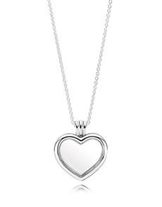 jewellery: Pandora Floating Heart Locket !