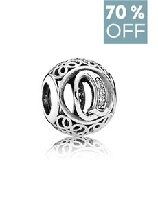 jewellery: Clearance Sale Pandora Letter Q Silver Charm !