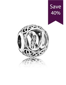 jewellery: Pandora Letter U Silver Charm !