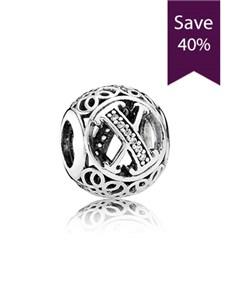 jewellery: Pandora Letter X Silver Charm !