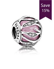 jewellery: Pandora Abstract Silver Charm  791969PCZ!