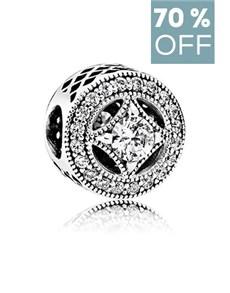 jewellery: Pandora Silver Charm  791970CZ!