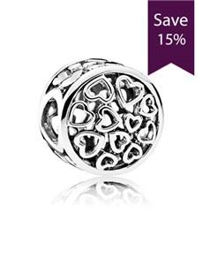 jewellery: Pandora Openwork Heart Charm!