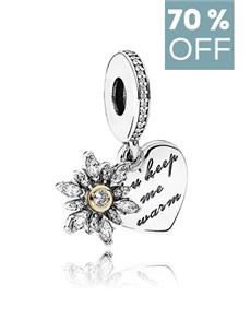 jewellery: Pandora Silver Charm  792012CZ!