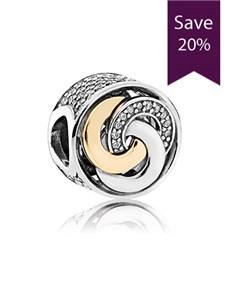 jewellery: Pandora Silver Charm  792090CZ!